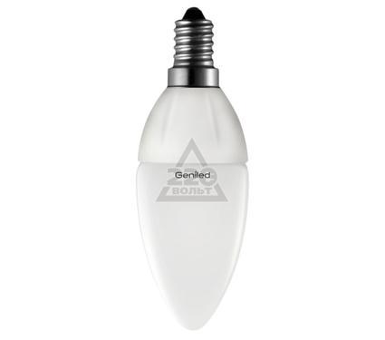 Лампа светодиодная GENILED Е14 С37 5W 4200K диммер