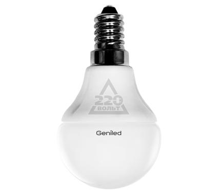 Лампа светодиодная GENILED Е14 G45 5W 2700K