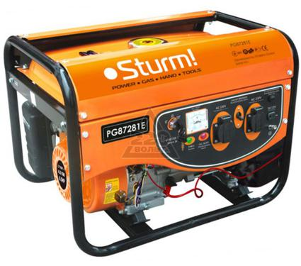 Бензиновый генератор STURM! PG87281E
