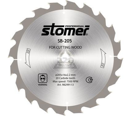 Диск пильный твердосплавный STOMER SB-205