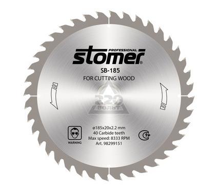 Диск пильный твердосплавный STOMER SB-185