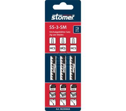 Набор пилок STOMER SS-3-SM