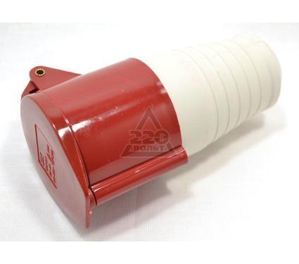 Розетка кабельная IEK 214 3P+PE