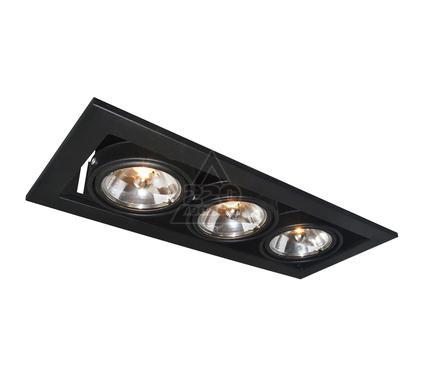 Светильник встраиваемый ARTE LAMP A5930PL-3BK