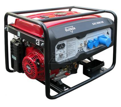 Бензиновый генератор ELITECH БЭС 6500 EM
