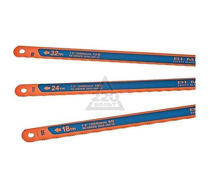 Полотно для ручной ножовки BAHCO 3906-300-3P