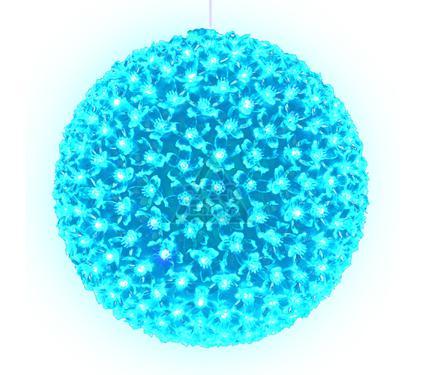 Фигура новогодняя UNIEL ULD-H2727-300/DTA LIGHT BLUE IP20 SAKURA BALL
