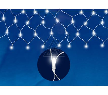 Гирлянда светодиодная сетка на окно UNIEL ULD-N2520-240/STA WHITE IP20