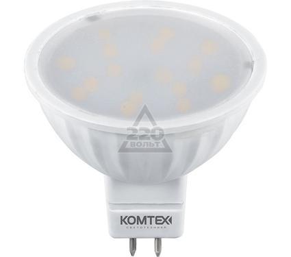 Лампа светодиодная КОМТЕХ СДЛп-MR16-5-220-830-120-GU5.3