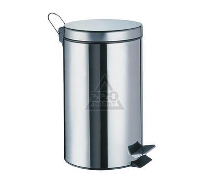 Ведро WASSERKRAFT 3 литра ш/г/в - 21x17x23 cm гл.хром мат.латунь