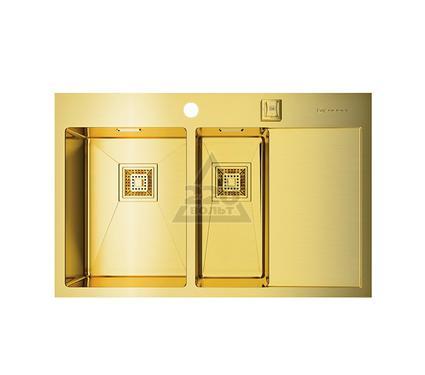 Мойка кухонная OMOIKIRI Akisame 78-2-LG-L - Светлое золото