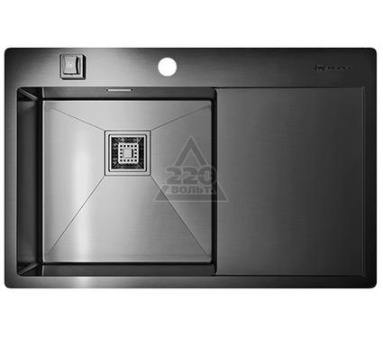 Мойка кухонная OMOIKIRI Akisame 78-GM-L - Вороненая сталь