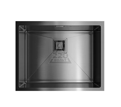 Мойка кухонная OMOIKIRI Akisame 54-U-GM - Вороненая сталь