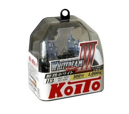 Лампа автомобильная KOITO P0752W