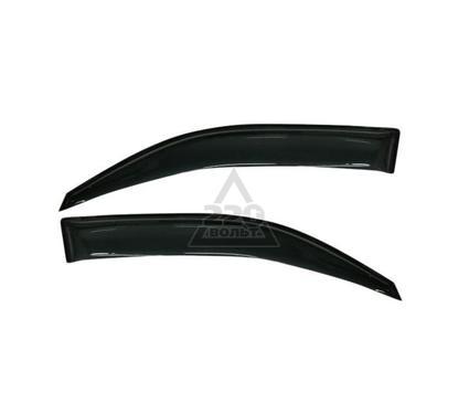 Дефлектор SKYLINE Honda CR-V 06- Chrome molding