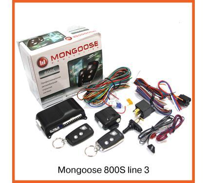 Сигнализация MONGOOSE 800S line3