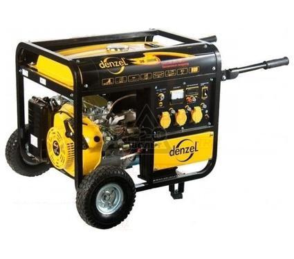 Бензиновый генератор DENZEL DB7500Е