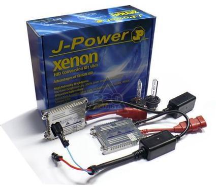 Комплект ксенона JPOWER Slim ULTRA-MaxLum LL H3 6000K