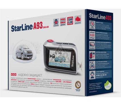 Сигнализация STARLINE A93 CAN-LIN