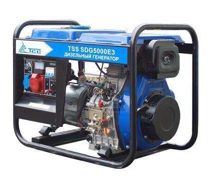Дизельный генератор ТСС SDG 5000 E3