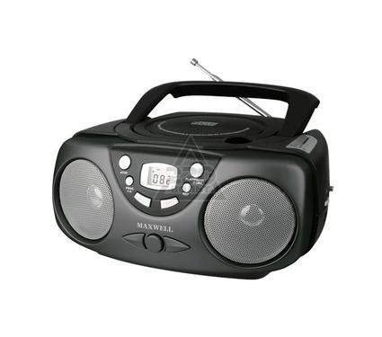 Магнитола MAXWELL Магнитола MAXWELL MW-4001(BK)  CD/MP3