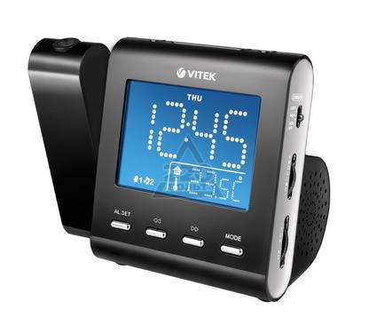 Часы-радио VITEK VT-3504(BK)