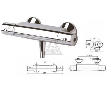 Cмеситель термостатический IDEAL STANDARD A6367АА