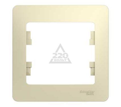 Рамка SCHNEIDER ELECTRIC GSL000201 Glossa