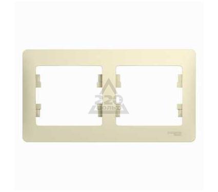 Рамка SCHNEIDER ELECTRIC GSL000202 Glossa
