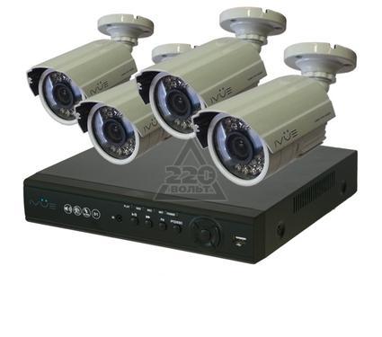 Комплект видеонаблюдения IVUE 6804VHK-CB15-CM6030-500Gb