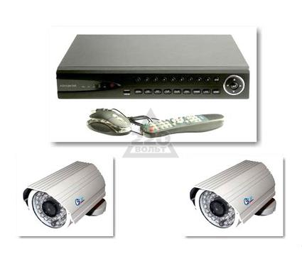 Комплект видеонаблюдения QSTAR 'Магазин склад''