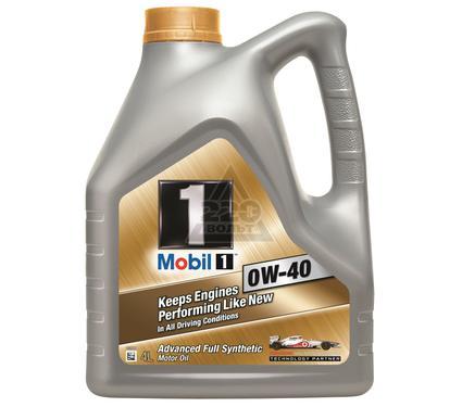 Масло моторное MOBIL 0W-40 (кан4л) (синтетическое)