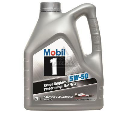 Масло моторное MOBIL 5W-50 (кан4л) (синтетическое)