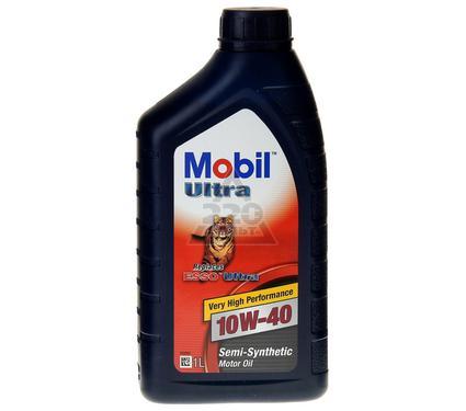 Масло моторное MOBIL ULTRA 10W-40 (1л) (полусинтетическое)