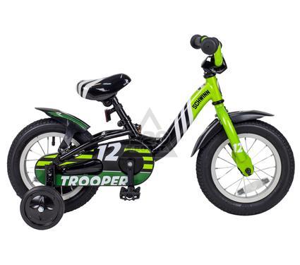 Детский велосипед SCHWINN TROOPER, BLACK/LIME