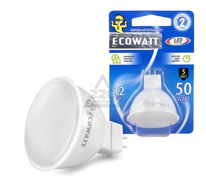 Лампа светодиодная ECOWATT MR16 12В 5(50)W 4200K GU5.3