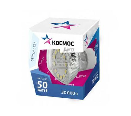 Лампа светодиодная КОСМОС LED JCDR 5Вт 220В GU5.3 4500К