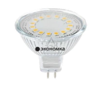 Лампа светодиодная КОСМОС LED 5Вт JCDR 220В 4500К Экономка Eco_LED5wJCDRC45