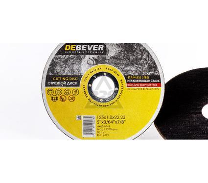 Круг отрезной DEBEVER WC12516228S