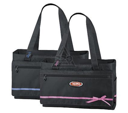 Сумка-холодильник THERMOS Foogo large Diaper Fashion Bag черная/розовая