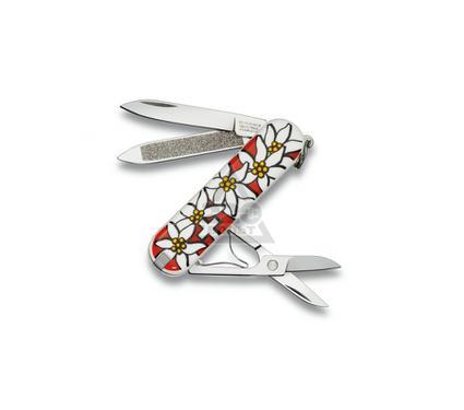 Нож-брелок VICTORINOX Classic Edelweiss (0.6203.840)