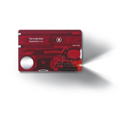 Швейцарская карточка VICTORINOX SwissCard Lite Red (0.7300.T)