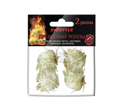 Древесные роллы BIOSTYLE 2 шт.