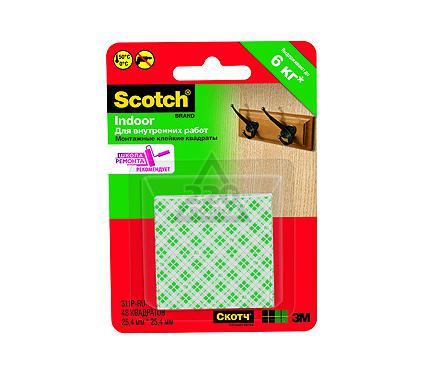 Монтажные квадраты 3М Scotch 2,5х2,5см