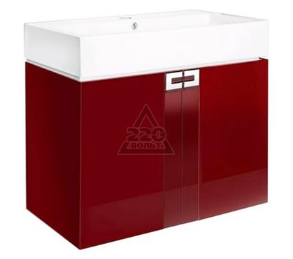 Раковина с тумбой EDELFORM Поинт 80 EF W80 красный