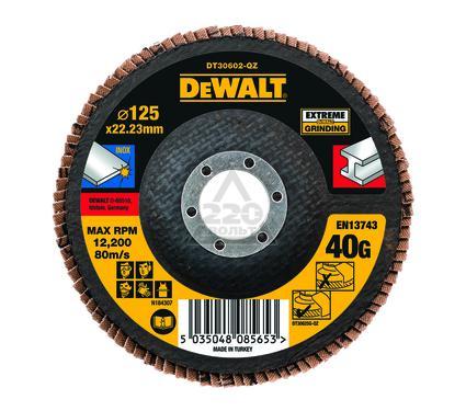 Круг Лепестковый Торцевой (КЛТ) DEWALT DT30602-QZ