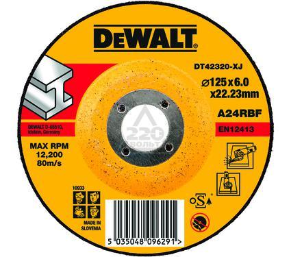 Круг зачистной DEWALT DT42320-XJ