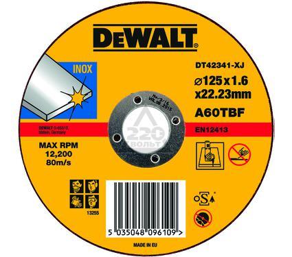 Круг отрезной DEWALT DT42341-XJ