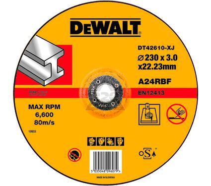 Круг отрезной DEWALT DT42610-XJ