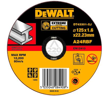 Круг отрезной DEWALT DT43301-XJ